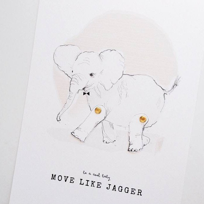 Image of ART PRINT | MOVE LIKE JAGGER