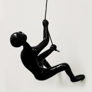 Image of CLIMBING MAN - BLK