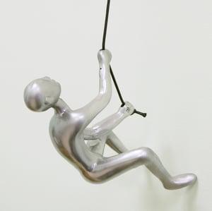 Image of CLIMBING MAN - SILVER