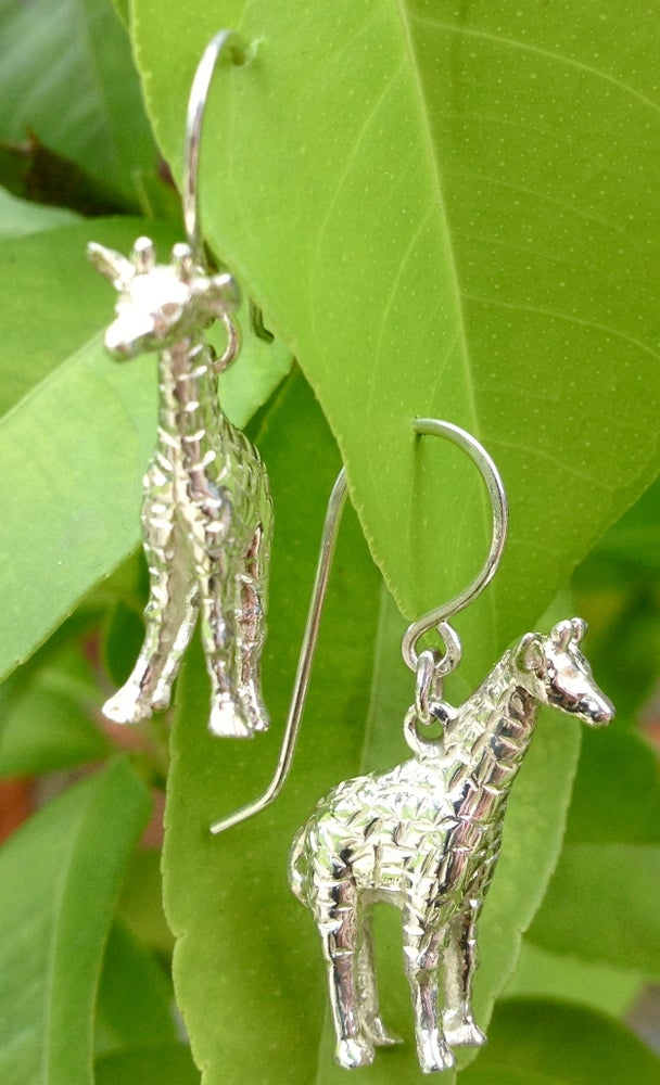 Image of Giraffe Earrings