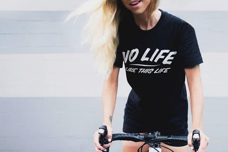 Image of PREORDER No Life // Travis Simon T-Shirt