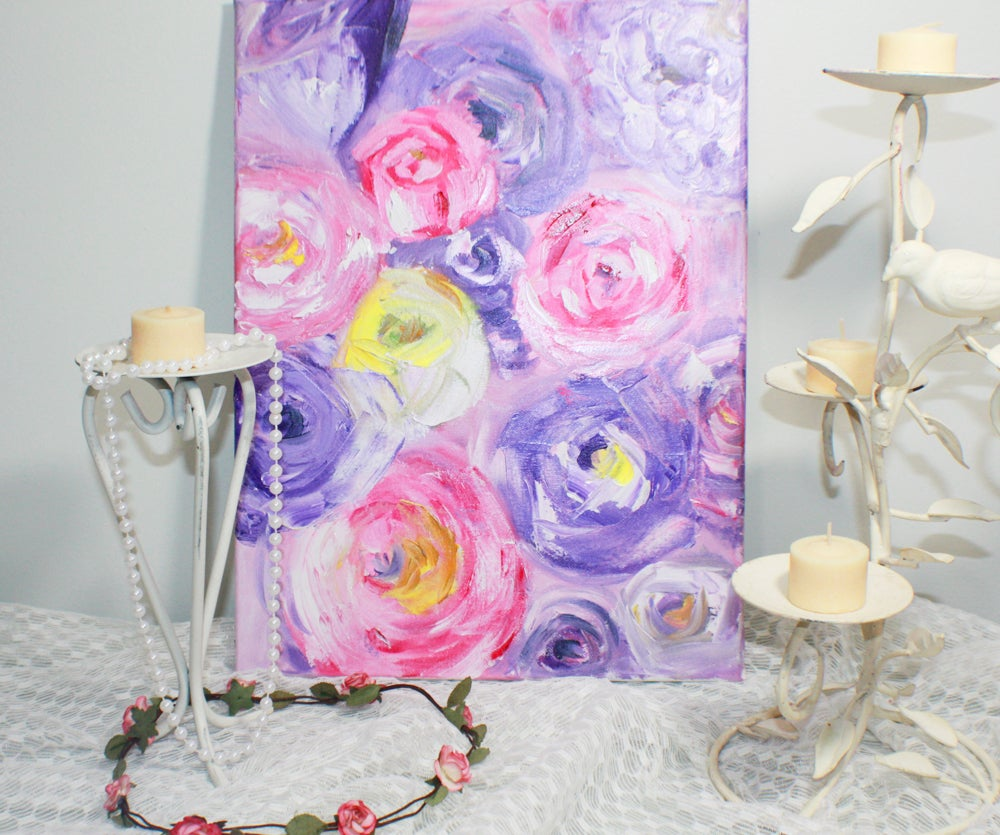 Image of Abstract Original Flowers