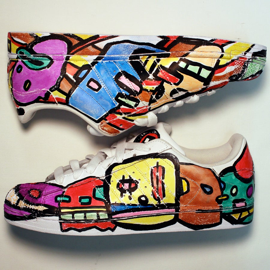 Shoes Color Ffp Draw Hand Frankfosterpost Adidas TxwvI8