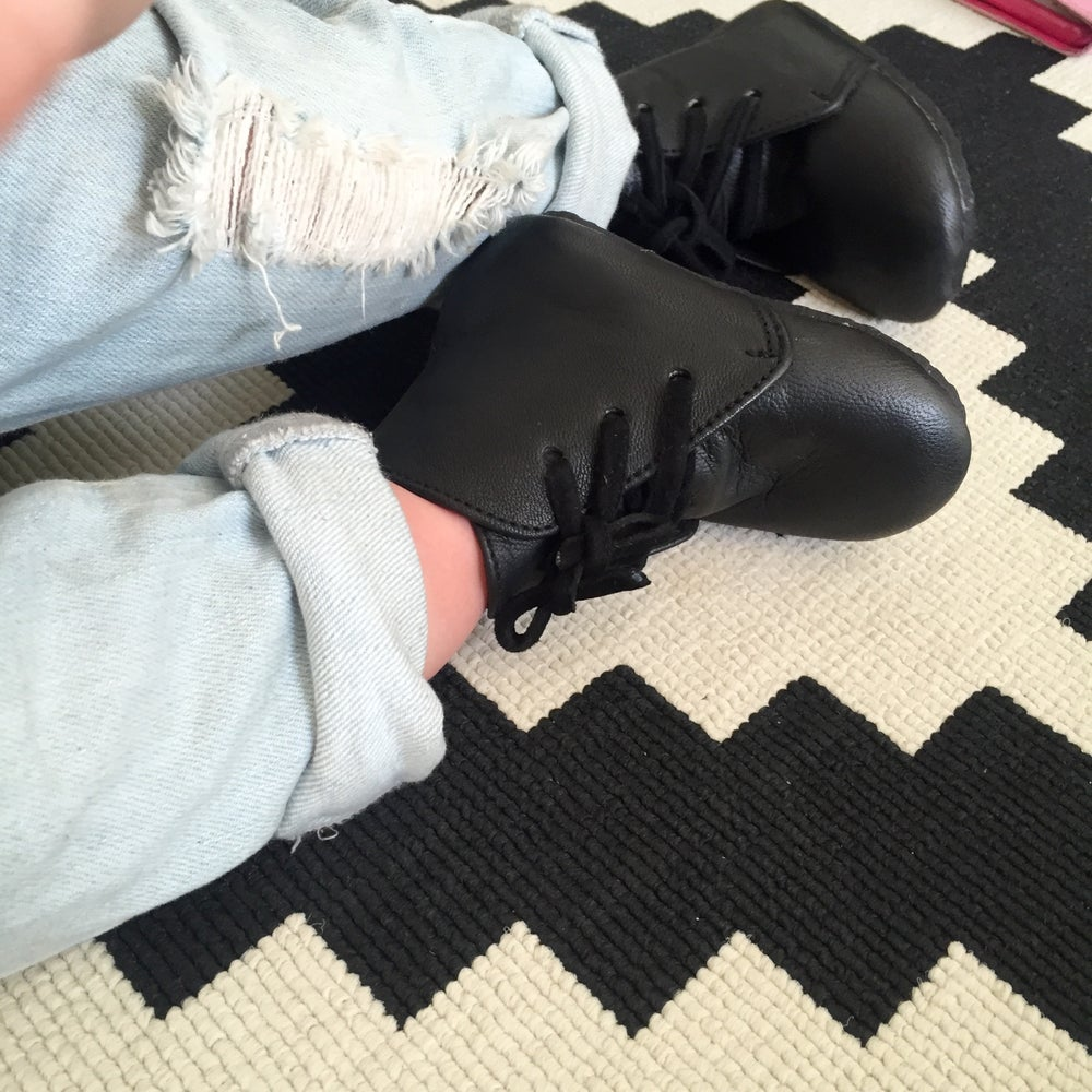 Image of Leather Boots - Black