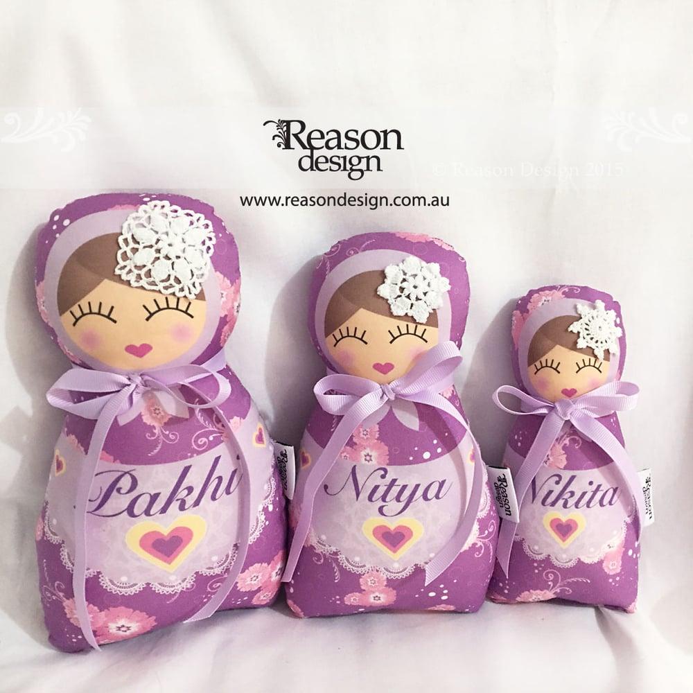 Image of Custom Babushka Doll