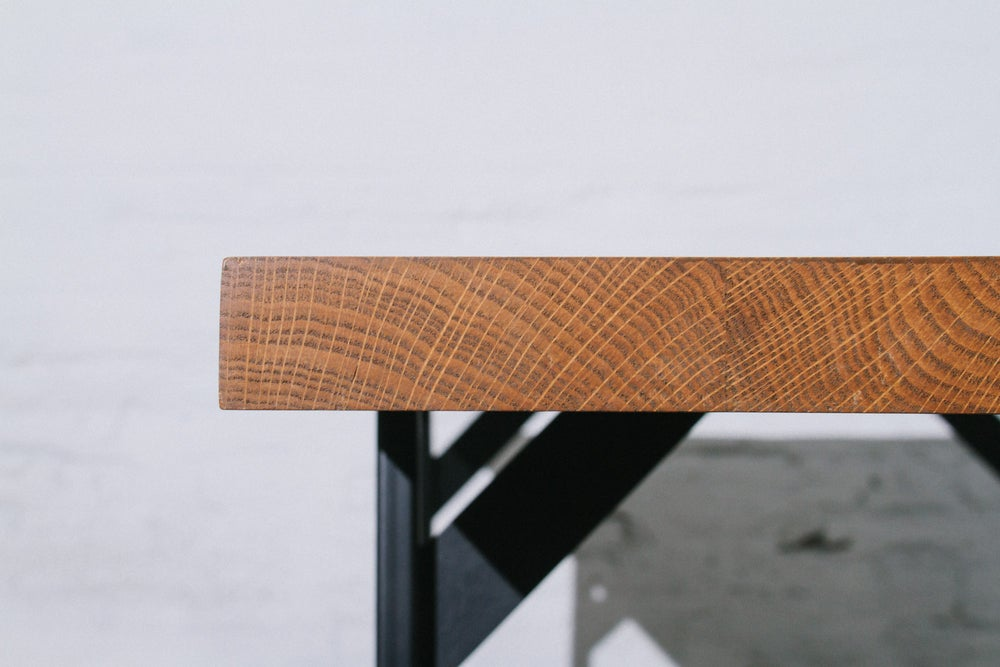 Image of Oak Dining Table
