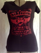 Image of LIBERATED WOMEN'S V-NECK TEE