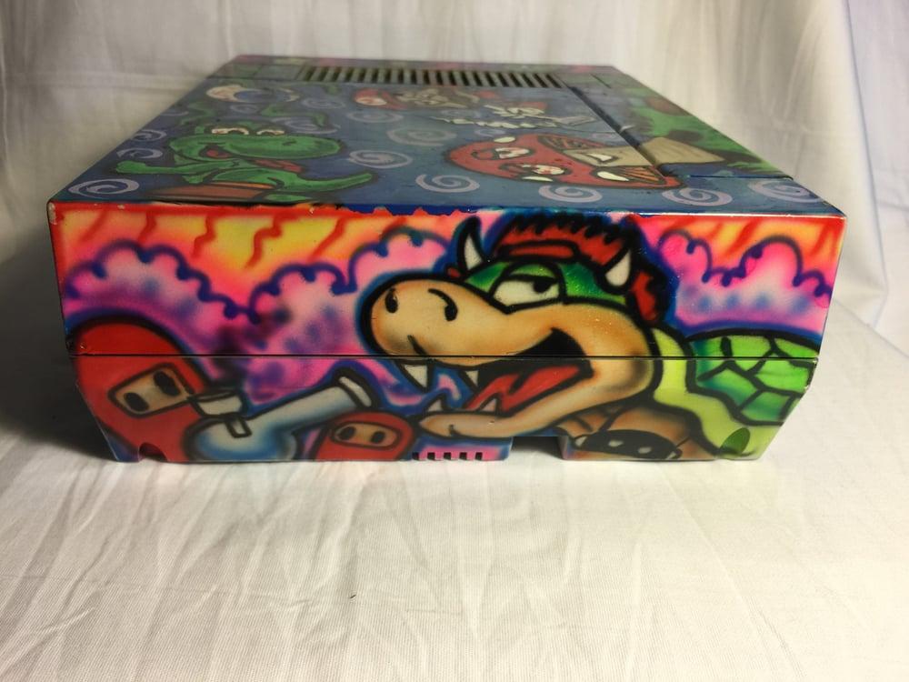 Image of Mario Custom Original Nintendo (NES) E-Nail