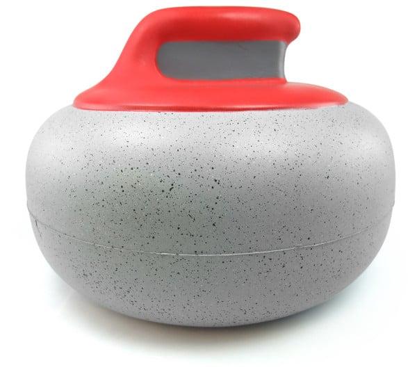 Image of Red Handle Foam Curling Hat
