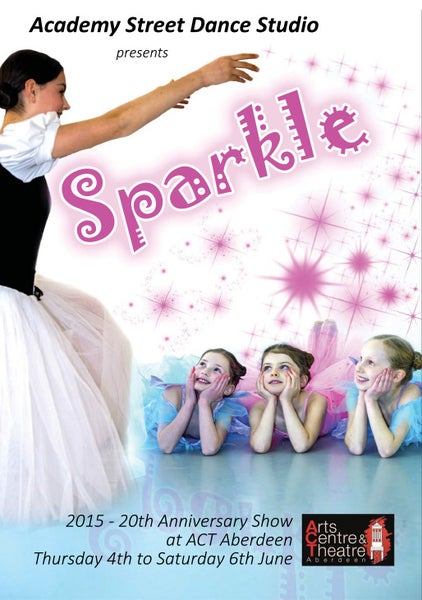 Image of Academy Street Dance Studio - SPARKLE 2-Disc DVD and PhotoDisc