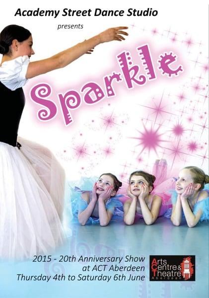 Image of Academy Street Dance Studio - SPARKLE 2-Disc DVD and PhotoDisc