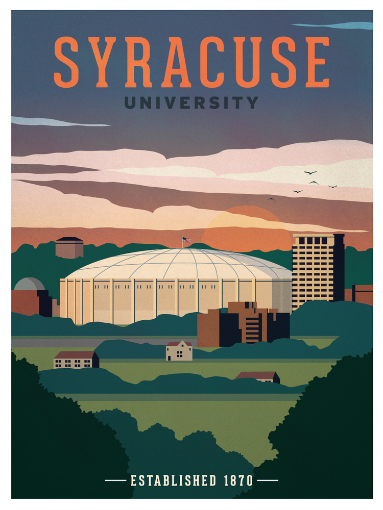 Image of Syracuse University Poster