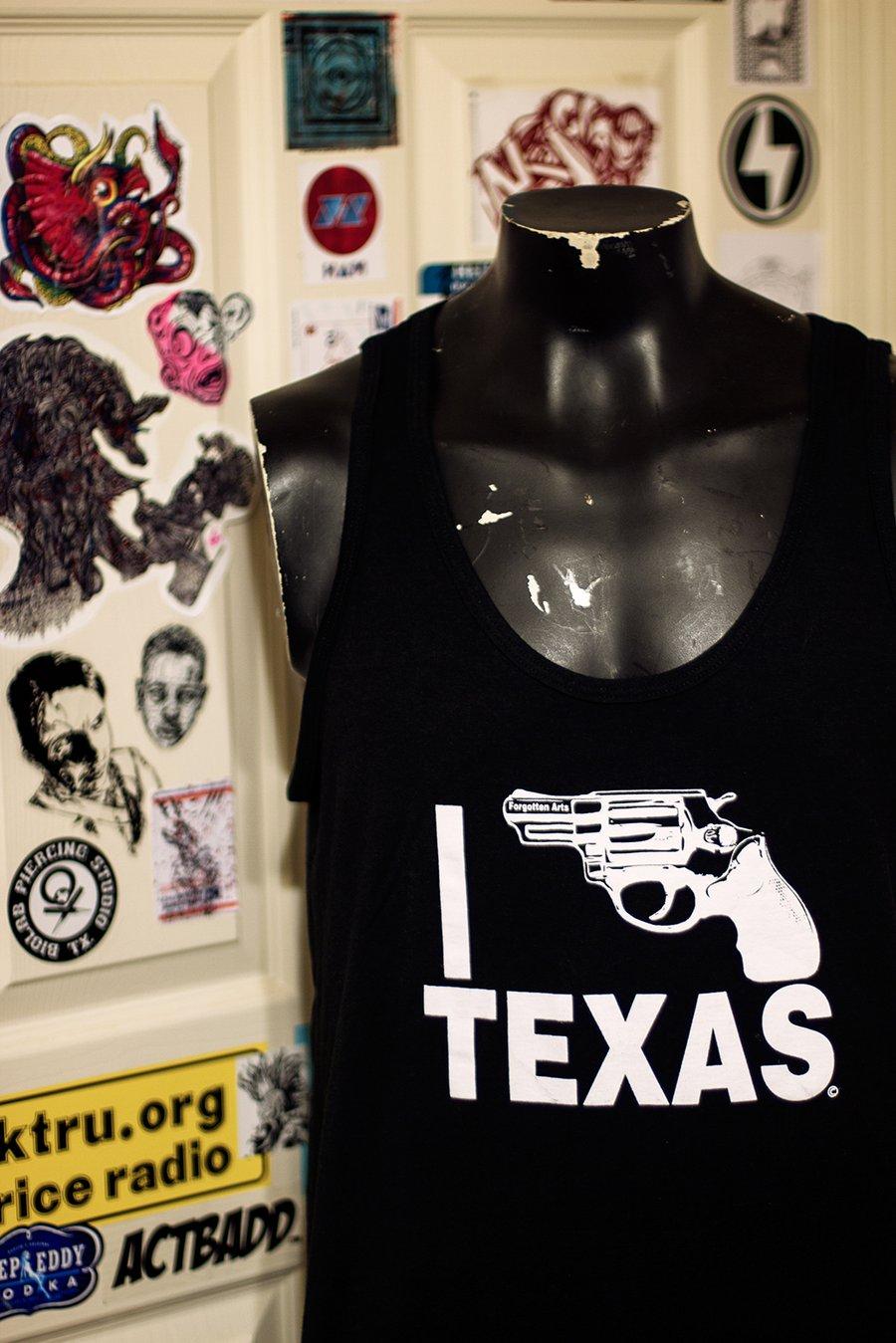 Image of Black I Bang Texas Tank