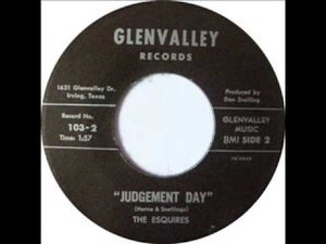 "Image of 7"" The Esquires : Judgement Day / Come On Come On."