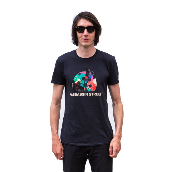 Image of Centre Straight Atom Mens Tee