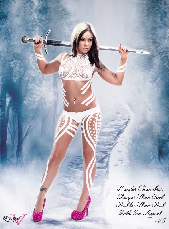"Image of Velvet Sky ""Ice Queen"" Signed 8X10"