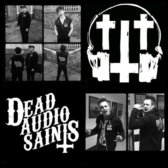 Image of Dead audio saints 'Logo' Hoodie
