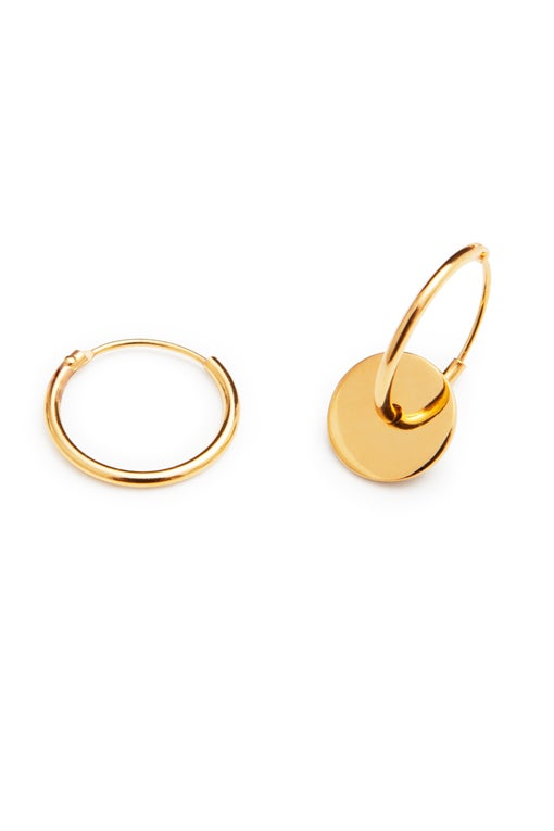 Image of LUCK N LOVE Pure Earrings Gold