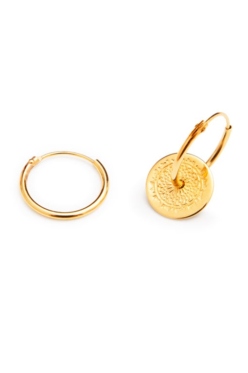 Image of LUCK N LOVE Earrings Gold