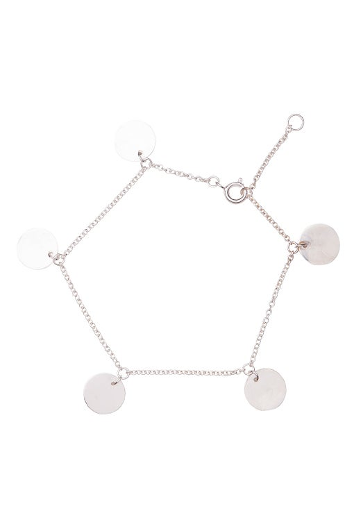 Image of LUCK N LOVE Pure 5 Coins Bracelet