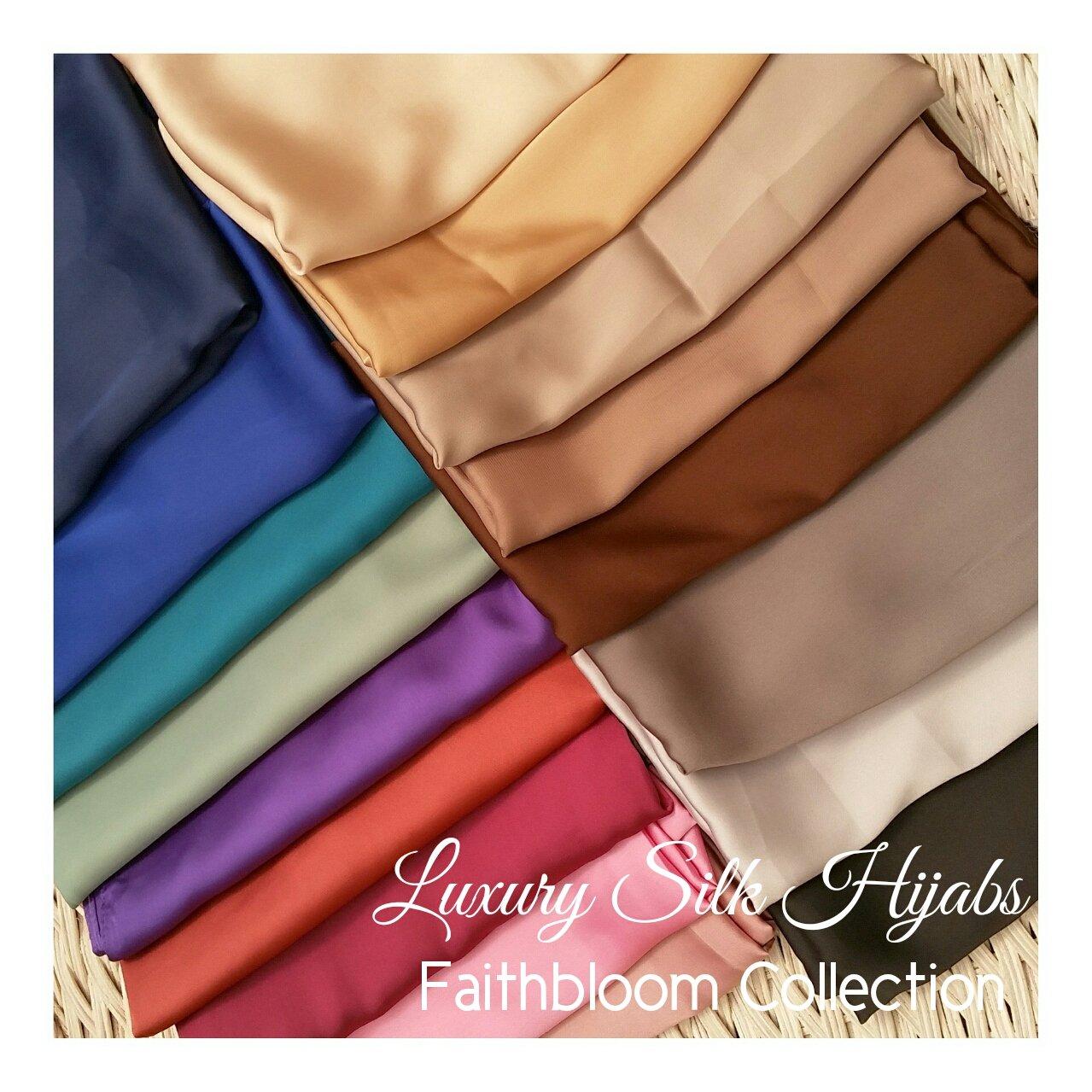 Image of Luxury Silk Maxi Hijabs (Originally £6.50)