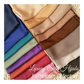 Image of Luxury Silk Maxi Hijabs