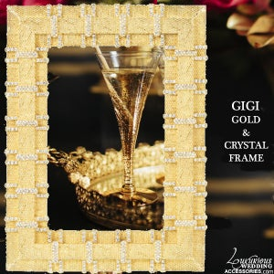 Image of Gold Picture Frame Gigi