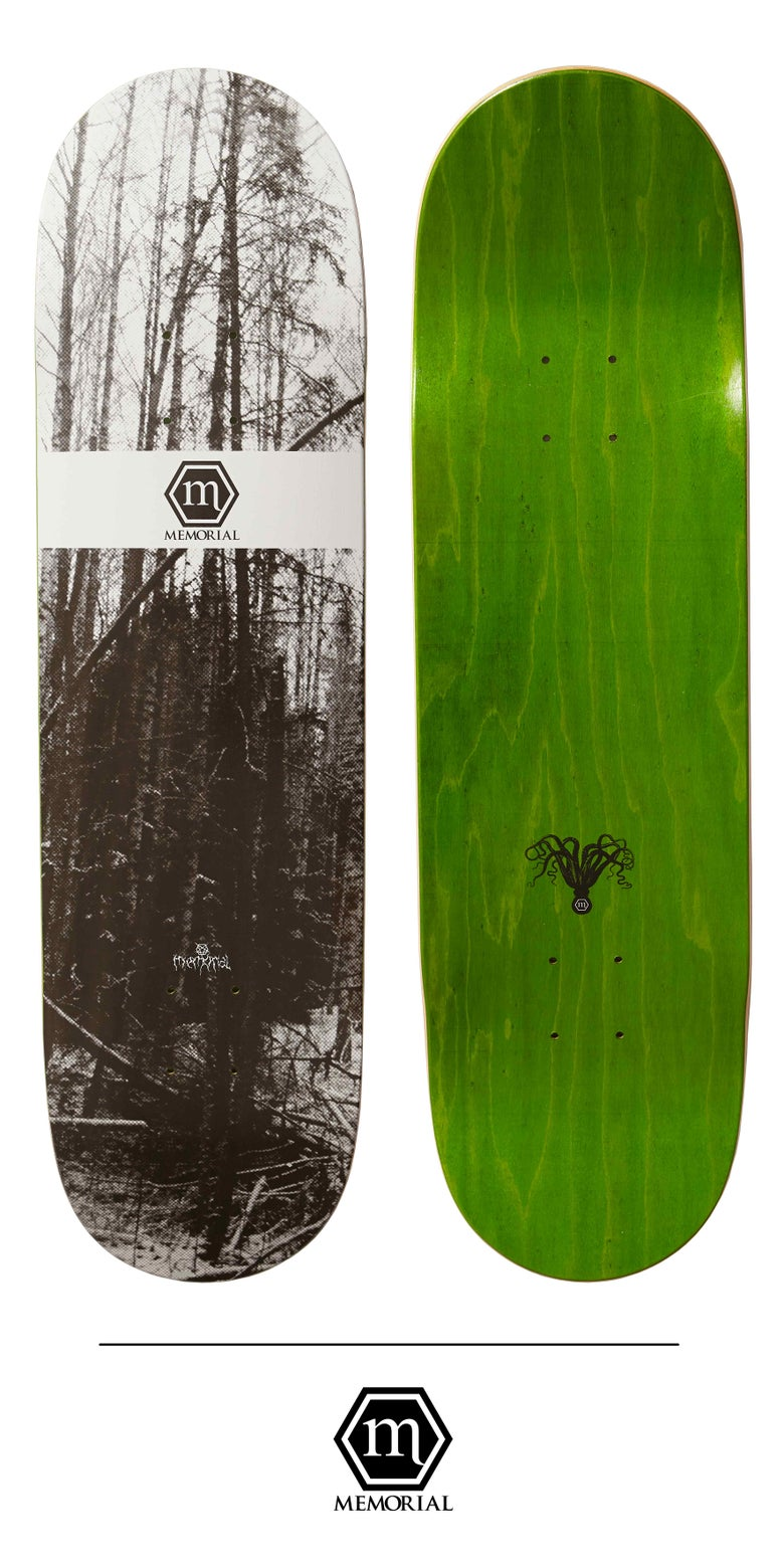 "Image of Memorial Skateboards - 8.25"" Forest"