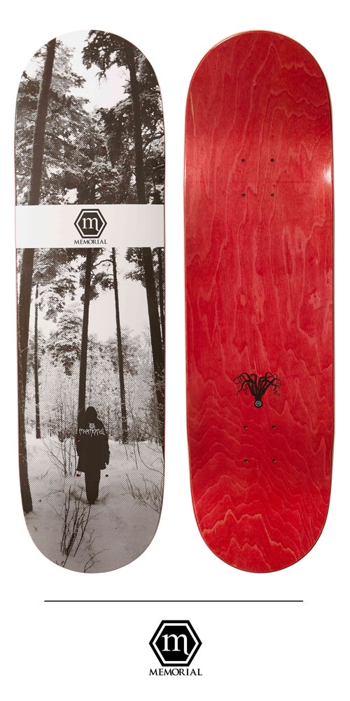 "Image of Memorial Skateboards - 8.5"" Anna"