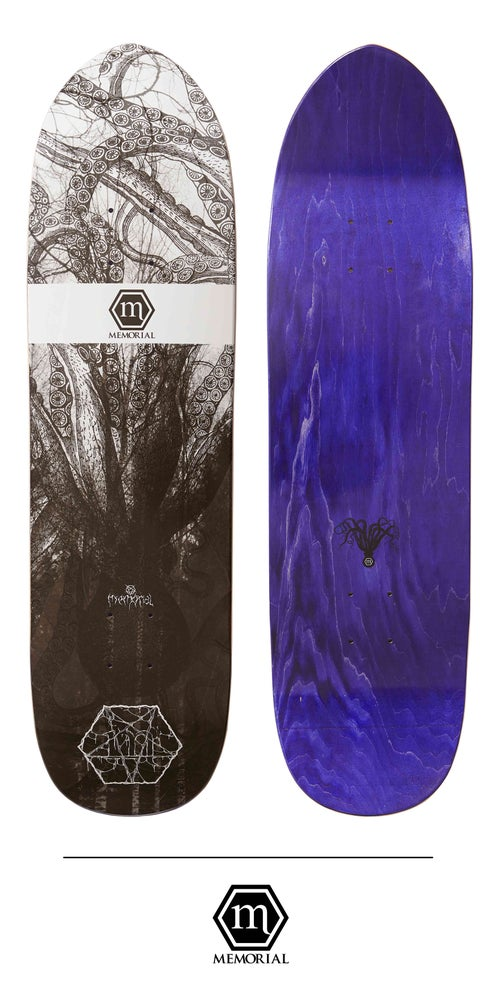 "Image of Memorial Skateboards - 8.6"" Evil Kraken Street Dagger"