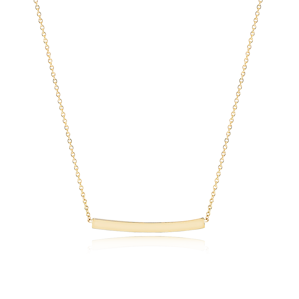 Image of Flow Necklace, 18K yellow gold