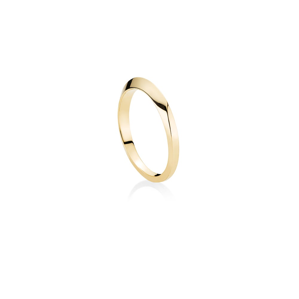 Image of Flow Ring, 18K yellow gold