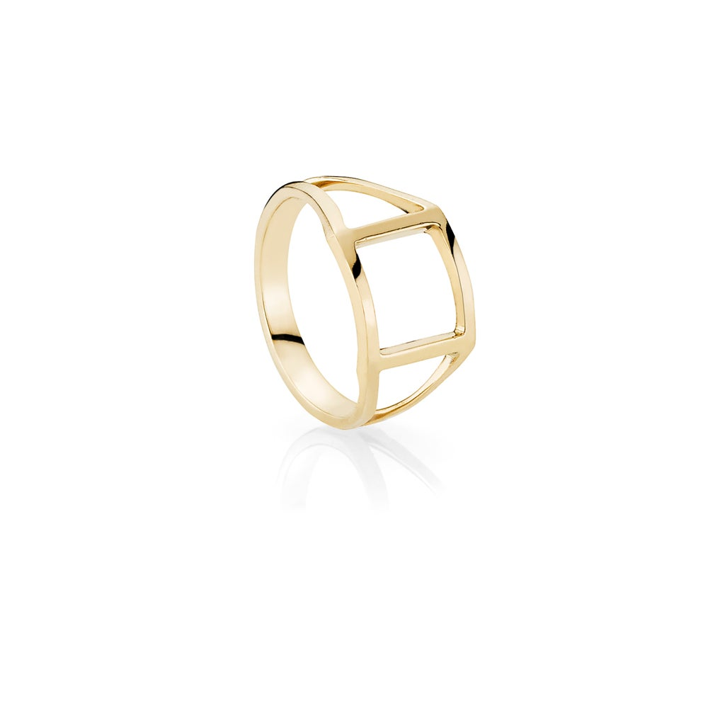 Image of Momento Ring, 18K yellow gold