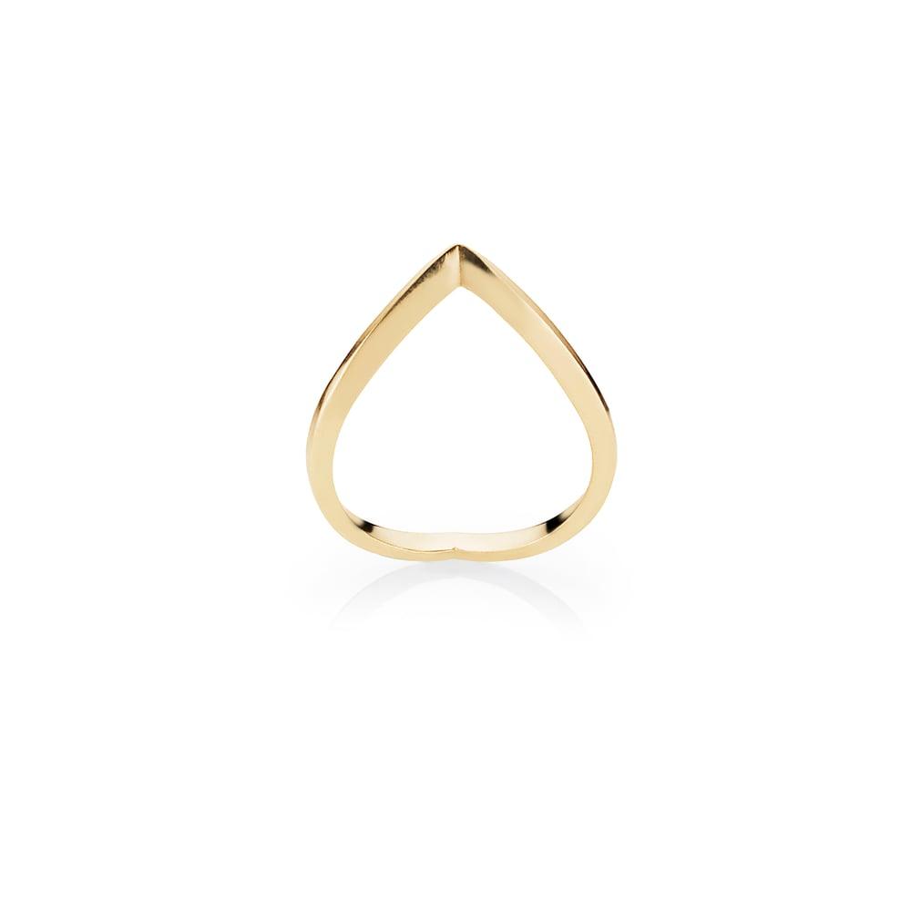 Image of Épiné Ring, 18K yellow gold