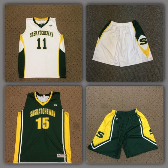 Image of Basketball Sask Provincial Team Jersey's/Shorts