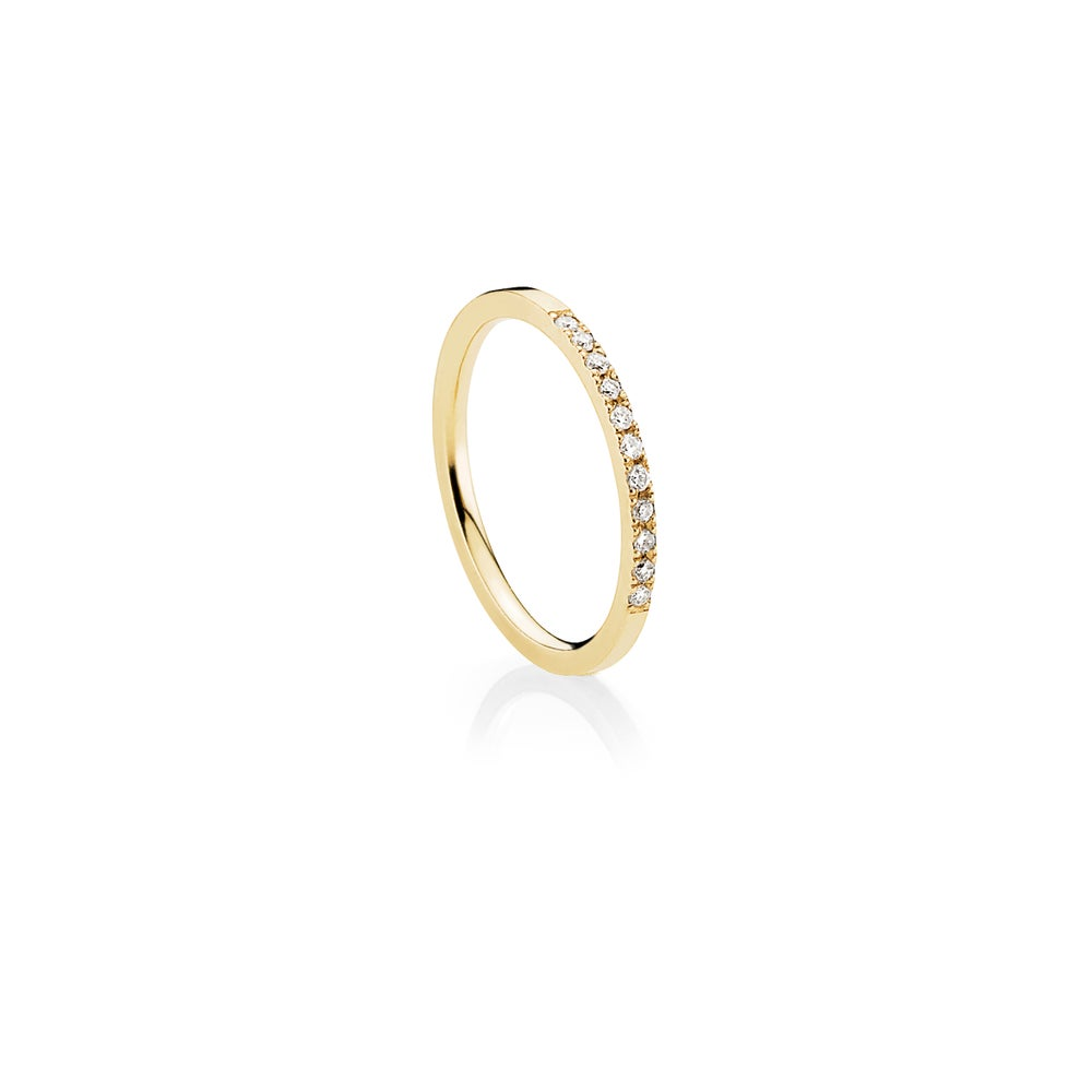 Image of Affinity Ring, 18ct yellow gold