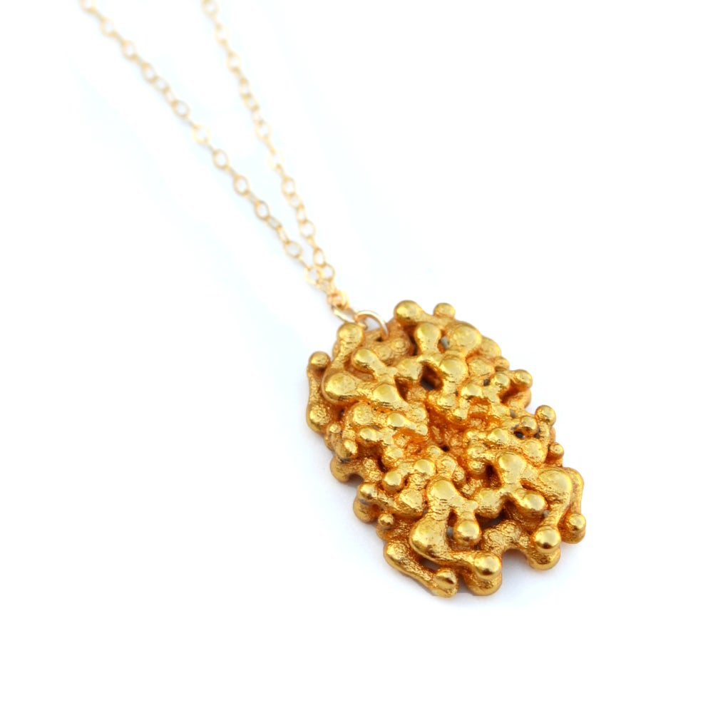 boutique gold necklace artique modern pendant by artiqueboutique product original geometric