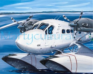 Image of Twin Otter Open Edition Canvas Giclee