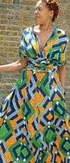 Olalade Maxi Dress (3) (Worn In 5 Ways)