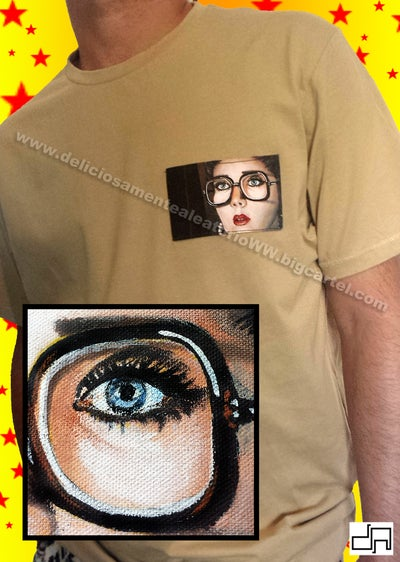 Image of Bolsillo Diana Prince / Diana Prince pocket T-Shirt