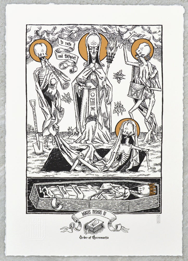 "Image of ""Magus Dismas IV"" Screen Print"