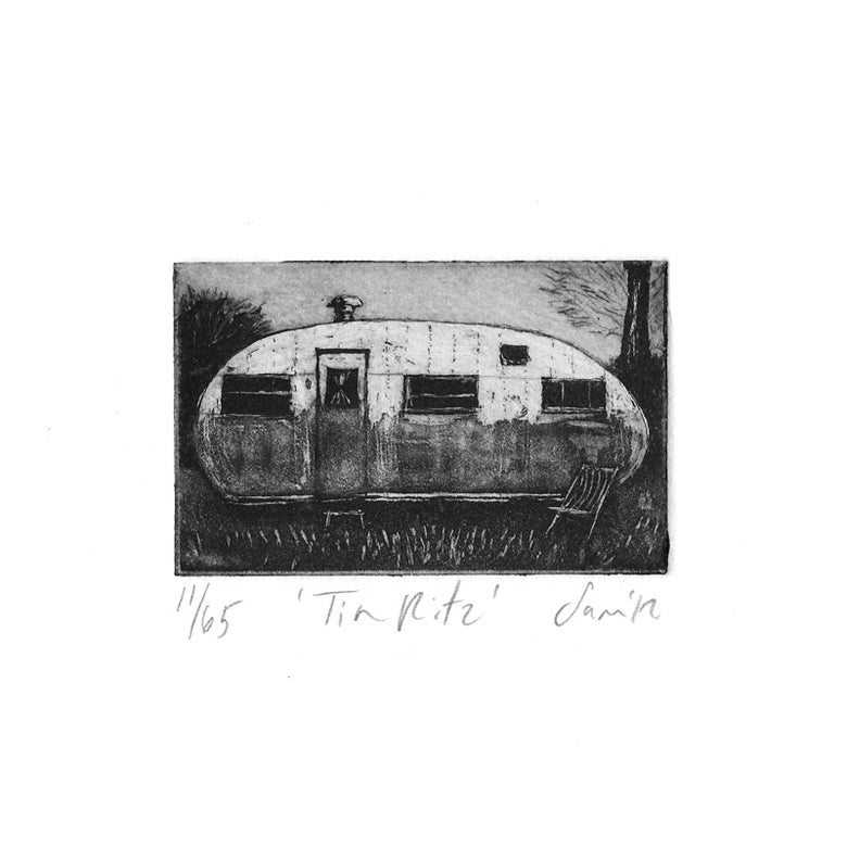 Image of 'Tin Ritz' - Etching