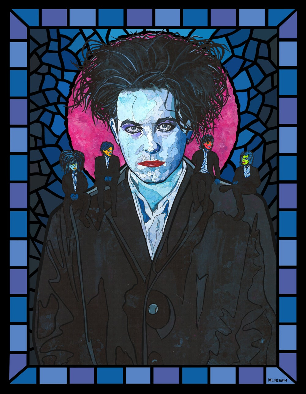 Saint Robert Smith (The Cure)