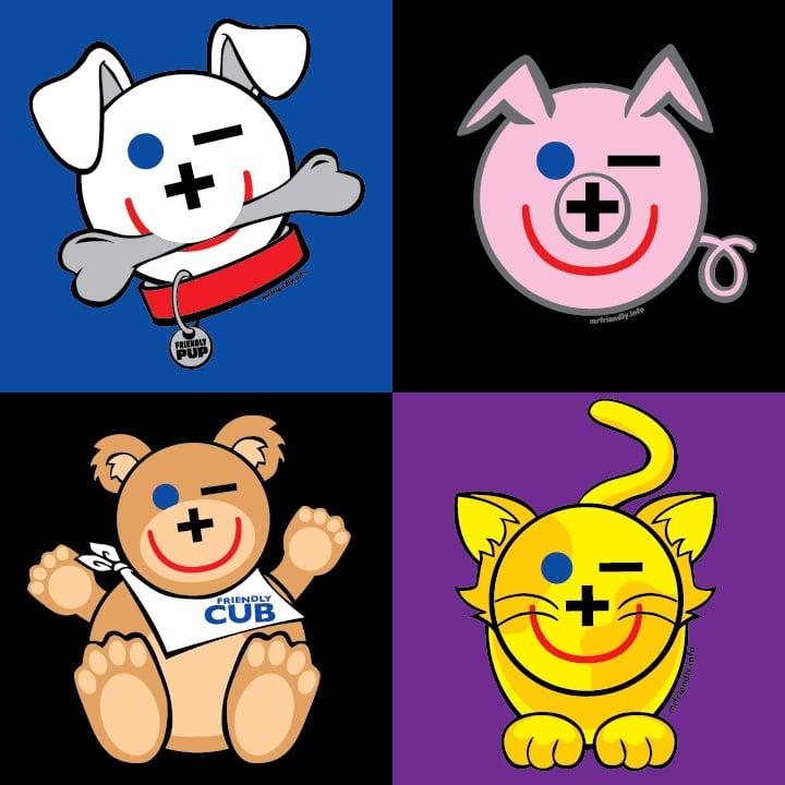 Image of 2XL-5XL Friendly Pets Tshirts