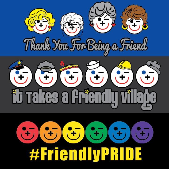 Image of 2XL-5XL Friendly Fun Tshirts