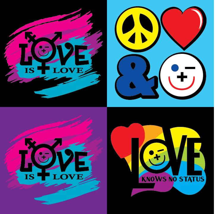 Image of 2XL-5XL Friendly Love Tshirts