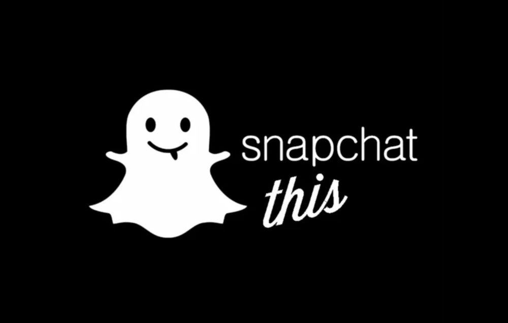 Image of Snapchat this Decal