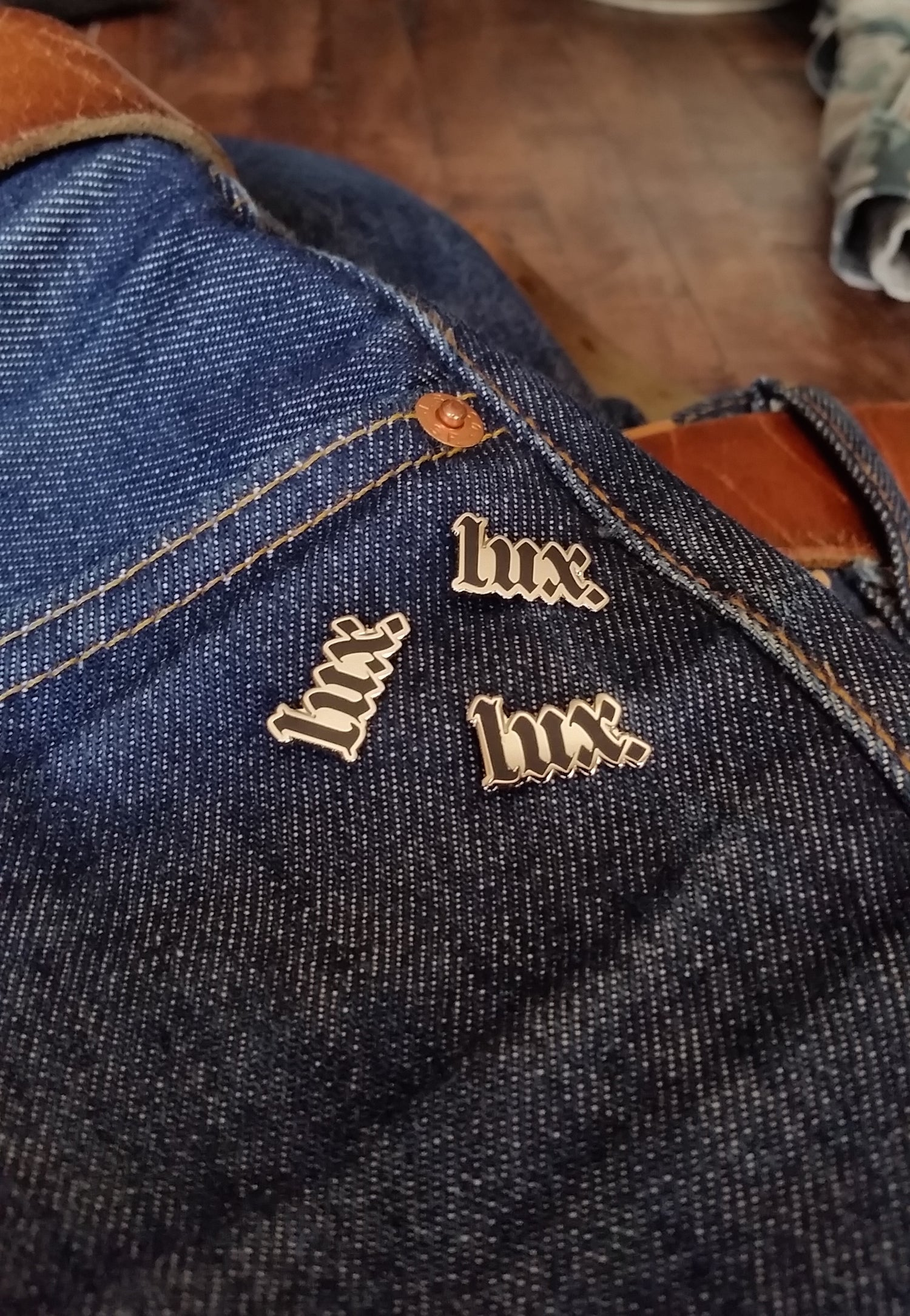 Image of LUX Lapel Pin