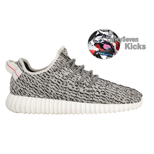 Image of Adidas Yeezy Boost 350 (Grey)