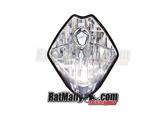 Image of MV Agusta Headlight Stickers. Generic.